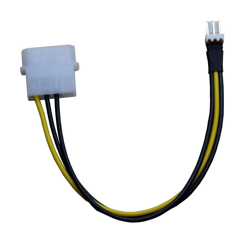 4pin Molex Male Port to 3Pin Fan Power Male port Cable D plug IDE Power to 4pin molex male port to 3pin fan power male port cable d plug ide