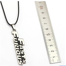 HSIC 20pcs/lot Wholesale Fast Furious Letter Necklaces Pendant For Women Men Jewelry Friendship Accessories HC11282