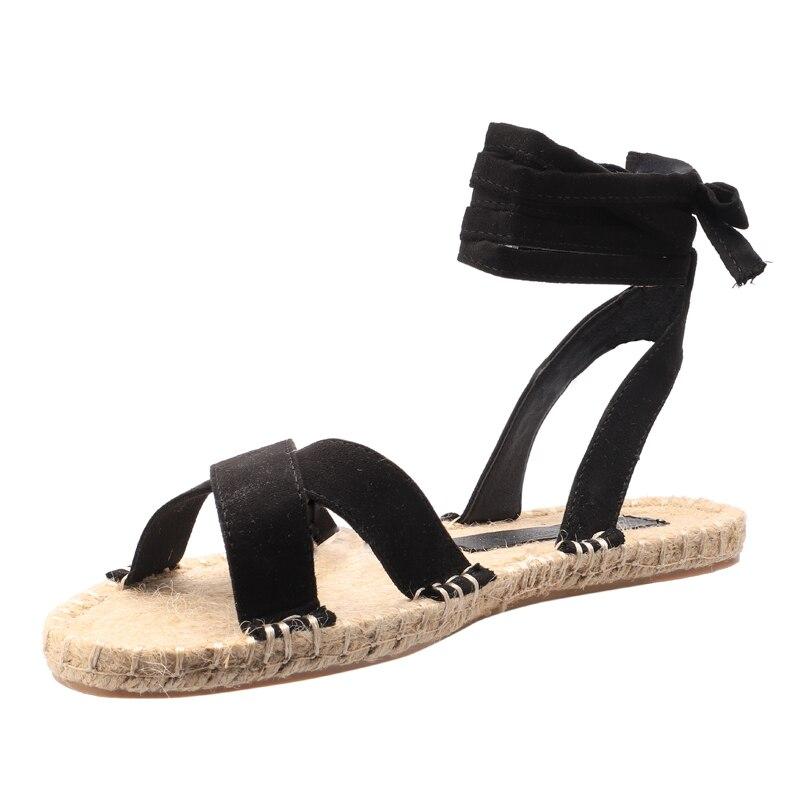 Letnie sandały damskie w stylu vintage Rzym