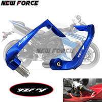 Universal 7/8 22mm Motorcycle Handlebar Brake Clutch Levers Protector Guard For YAMAHA YZF R1 1998 UP 2009 2016