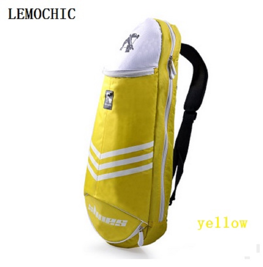 Ambitious Lemochic Big Capacity Outdoor Waterproof Professional Racquet Sports Bags Fitness Gym Badminton Tennis Cycling Tactical Backpack