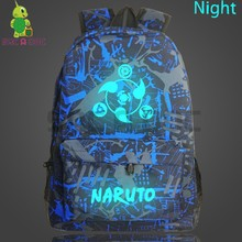 5fc2a22b6a8e Galaxy Naruto Luminous Backpack Sharingan Sasuke School Bags for Teenage  Boys Girls Laptop Backpack Starry Night