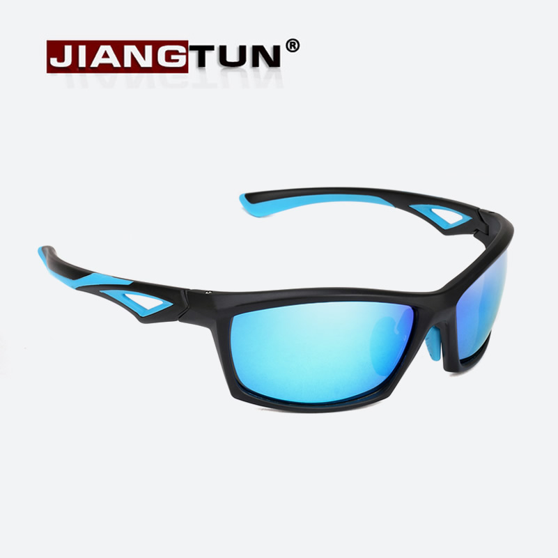 e6f4c0c5ba JIANGTUN 2018 New TR90 Frame Sunglasses For Men Polarized Sports Eyewear  Brand Designer Mirror Lens UV400 Sun Glasses-in Sunglasses from Apparel  Accessories ...