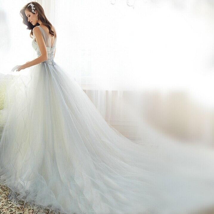 Elegant Hot Sexy Luxury Wedding Dresses With Long Train 2015 Vestido De Festa Longo  Factory Sale Ebay Wedding Bridal Dress A013A In Wedding Dresses From  Weddings ... Gallery