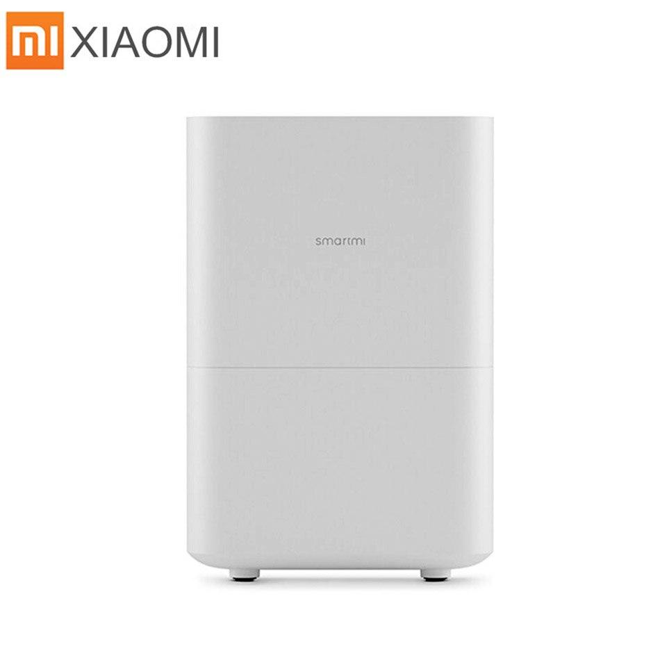 Xiaomi umidificador 2 smartmi ar sem fumaça sem névoa evaporar tipo xiaomi zhimi umidificador de ar 2 mijia app original/versão russa