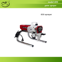 Free Shipping By DHL Airless Paint Sprayer 830 Wall Painting Spraying High Pressure Painting Tool