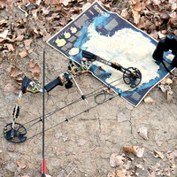 Archery bow 2018 New Aluminum Alloy Compound Bow With 20 70 lbs Draw Weight for human outdoor hunting