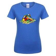 Новая летняя женская футболка, футболка с теорией большого взрыва, женская футболка с коротким рукавом и волшебным квадратом, s Sheldon Cooper, топы для девочек