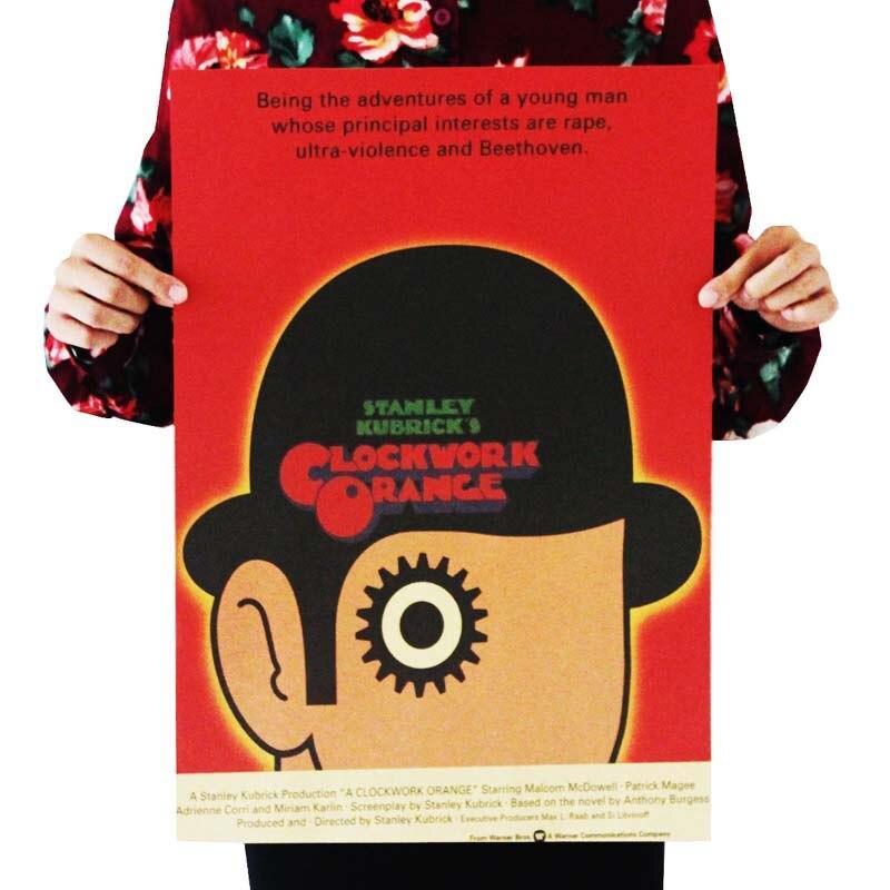 Винтажный постер Фильм Ретро аниме автомобиль плакаты и принты кофе/кухня/гостиная декоративная живопись крафт-бумага наклейки на стену - Цвет: 066