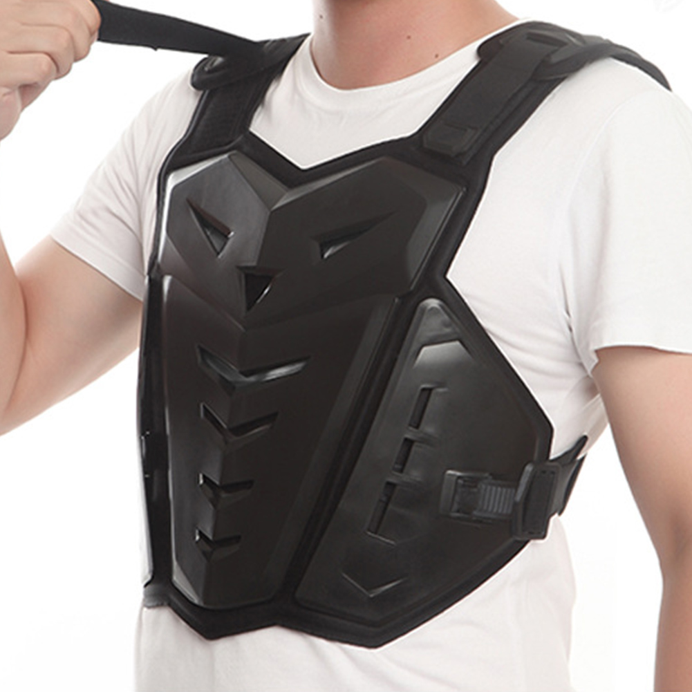 Réduire les dommages évidés gilet armure Durable doux résistant aux chocs moto équitation dos protecteur poitrine soutien Anti-bosse