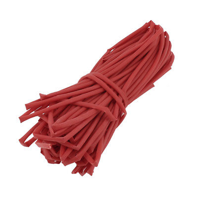 Ratio 2:1 Red Polyolefin3mm Dia Heat Shrink Cover Wiring Shrinkable Tube 20M ratio 2 1 1 5mm red heat shrinkable tube shrink tubing 200m
