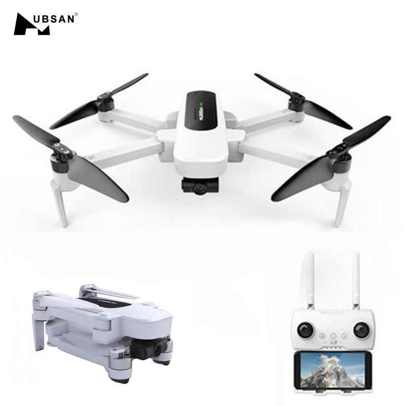 الأصلي Hubsan H117S Zino نظام تحديد المواقع 5.8G 1 كجم ذراع قابل للطي FPV مع 4K UHD كاميرا 3-Axis Gimbal RC الطائرة بدون طيار كوادكوبتر RTF عالية السرعة