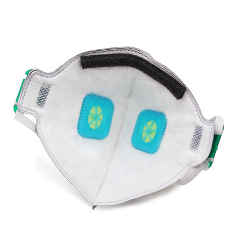Dust Mask Activated Carbon Double Breathing Valve protective masks dust mask masks second hand smoke Particle mask(China)
