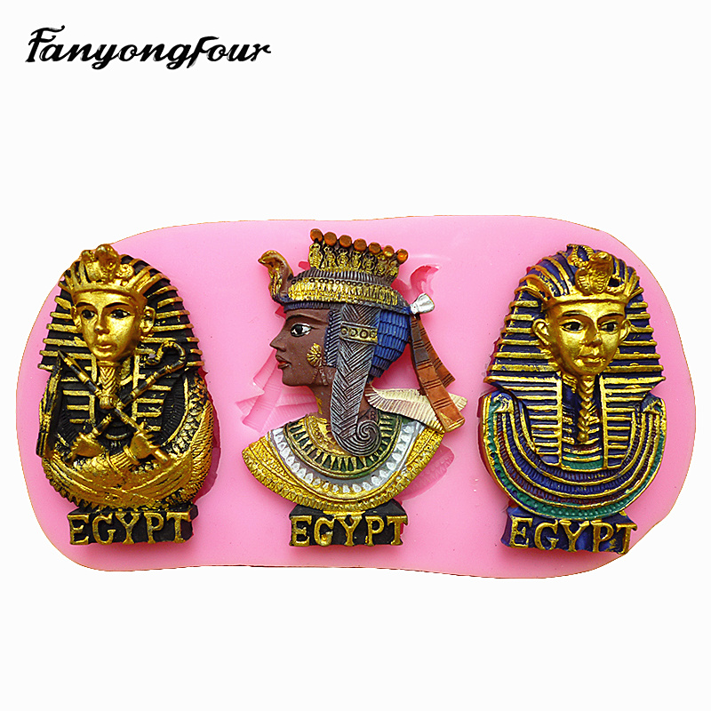 Kitchen Accessories Egypt: Egypt After Pharaoh Colorful Chocolate Mold Silicone Mold
