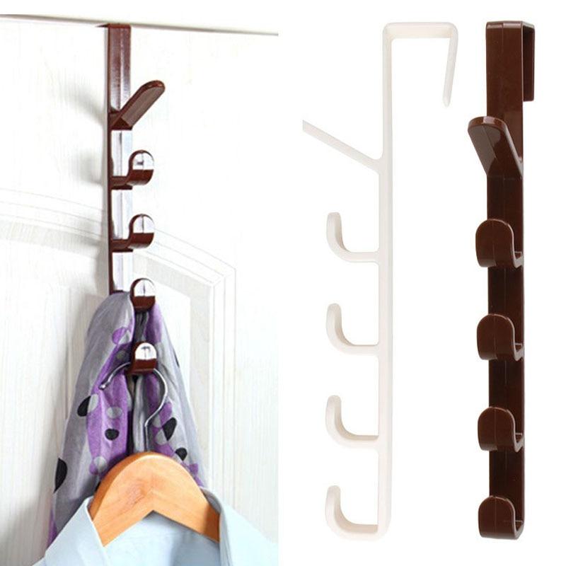 Cupboard Hanging Hook Plastic Hat Clothes Bag Hanger Holder Kitchen Cabinet Back Garbage Bags Organizer Storage Shelf Door Hook