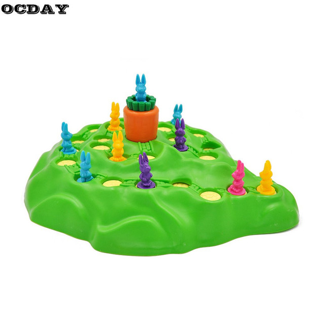 Funny Bunny Rabbit Competitive Game Toy Rabbit Cross-country Race Parent-child Interaction Desktop Game Adventure Rabbits Gift