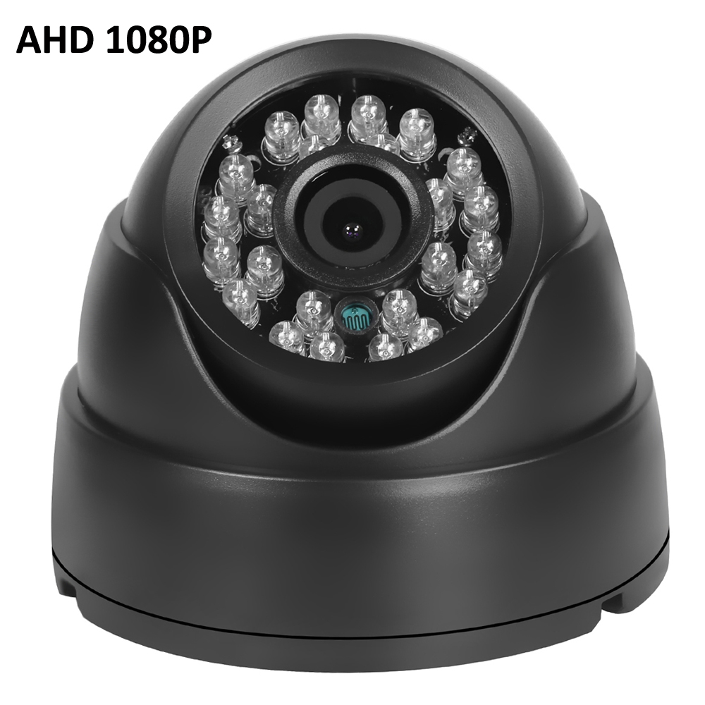 AHD Camera 1080P FULL HD 1920 1080 AHDH 24 IR LED 3 6MM lens Indoor Dome