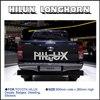 Longhorn Hilux 900mm Graphic Vinyl Sticer For TOYOTA HILUX Decals Badges Detailing Sticer