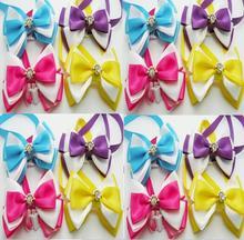 Cravates pour chien en fleurs de diamant