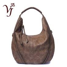 Fashion Ladies Hand Bags Big Tassel Shoulder Hobo Handbags for Women PU Leather Tote Female Retro Crossbody Bags Black Bolso