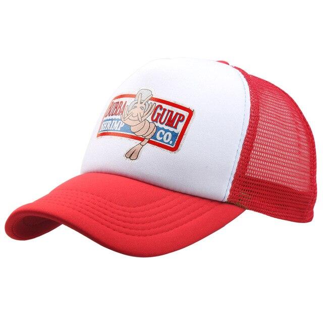 ea7ab848 BUBBA GUMP Cap SHRIMP CO. Truck Baseball Cap Men Women Sport Summer Snapback  Cap Hat Forrest Gump adjustable Hat 11 colors
