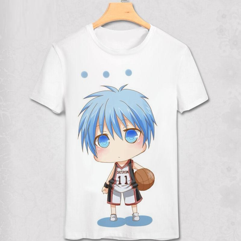 쿠로코 노 바스켓 티셔츠 Anime Kuroko No 바스케 세이린 - 남성 의류