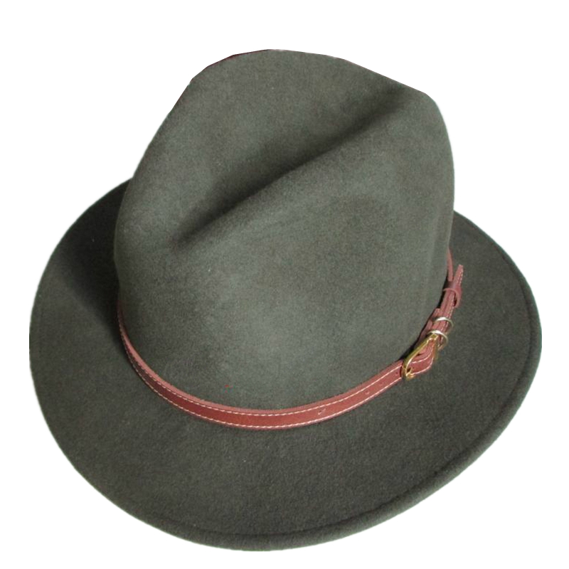 667ca714 Army Green Unisex Wool Felt Cowboy Western Adventurer Hat UK Brand-in Cowboy  Hats from Apparel Accessories on Aliexpress.com | Alibaba Group