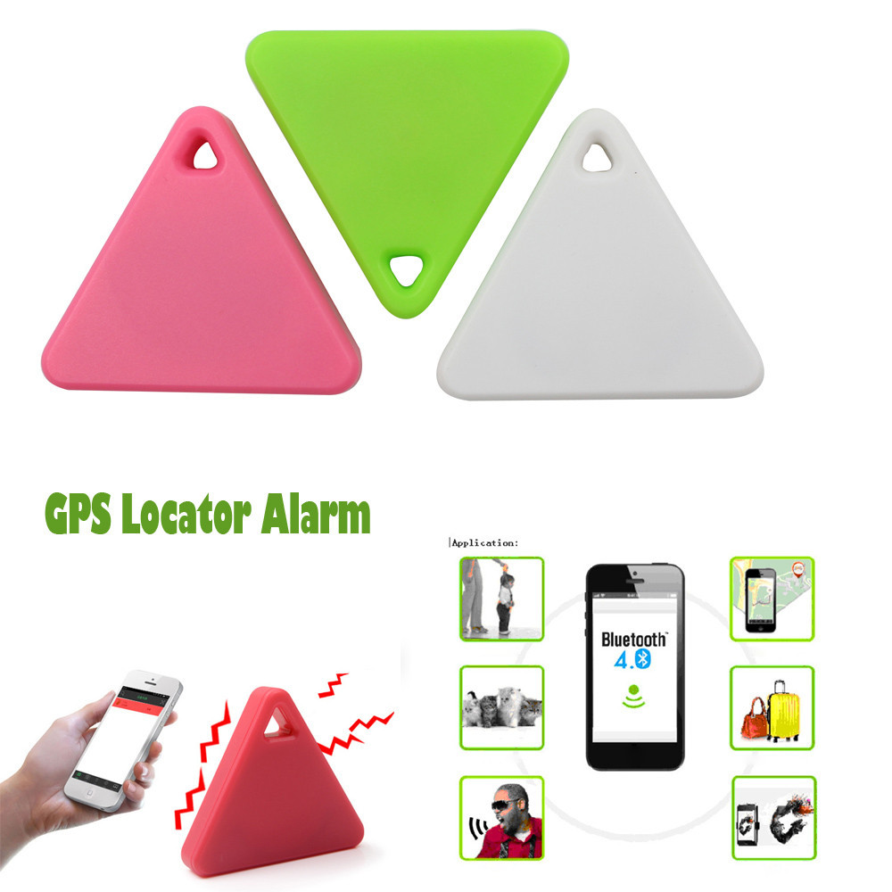 Mini Smart Alarm Device Bluetooth Tracker Locator Car Motor GPS Kids Pets Wallet Keys Alarm Locator Realtime Finder Device #25