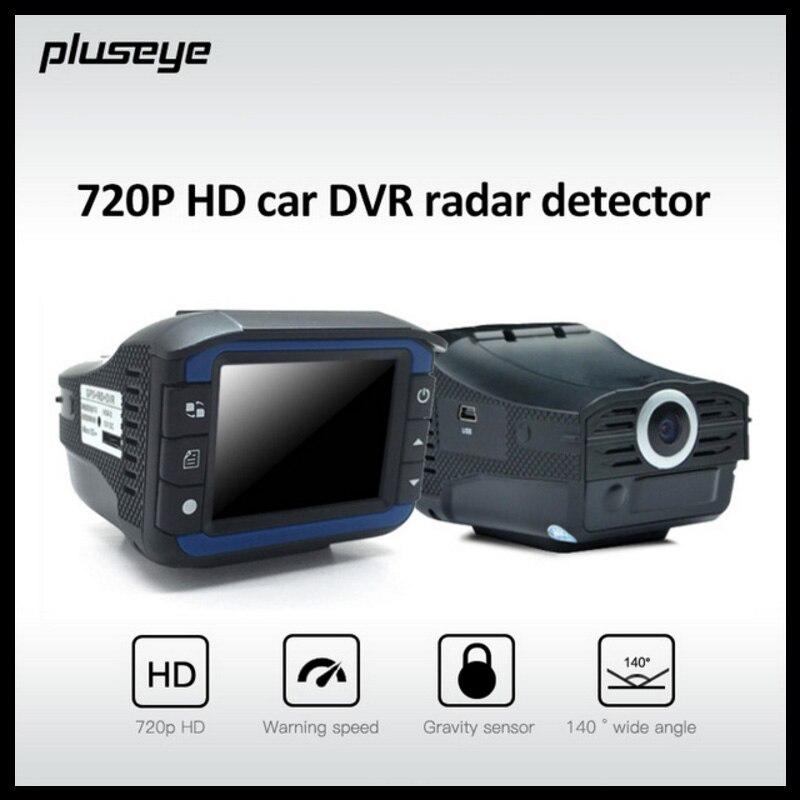 imágenes para (Con el Ruso e Inglés de Voz) 720 P Detector de Radar DVR HD Dash Cam 140 Grados de amplio ángulo de cámara de Vídeo Del Coche Cámara Grabadora de Auto