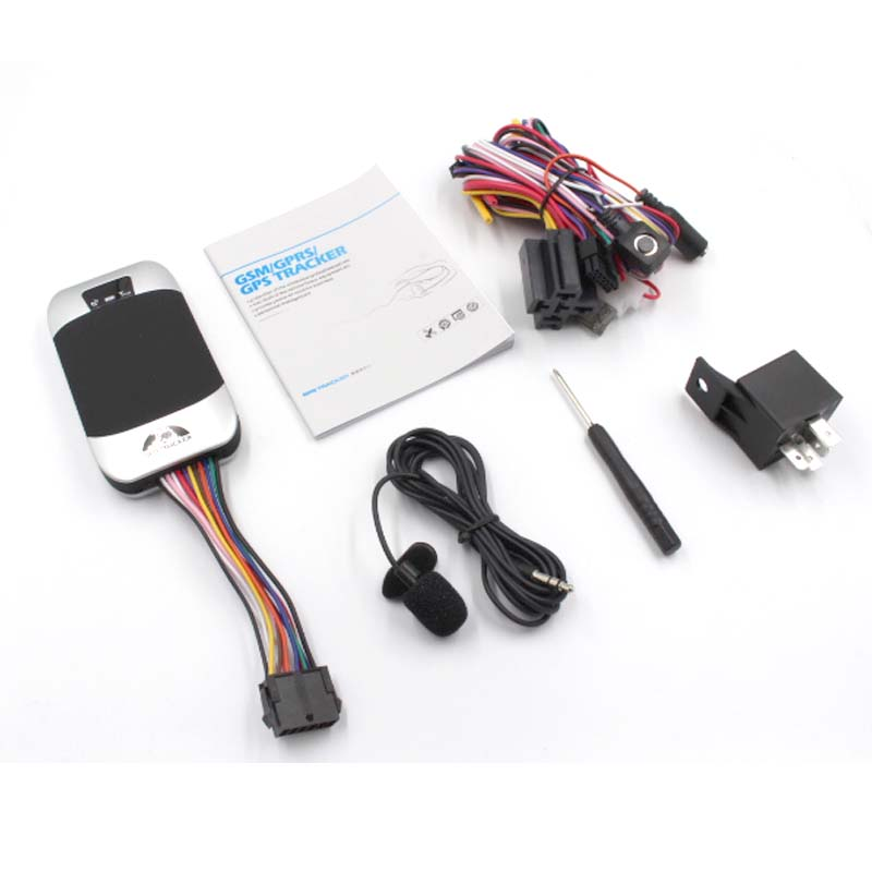 Vehicle Tracker Geo-Fence GPS303F GPRS Google-Map Coban Real-Time Car SMS with Quad-Band
