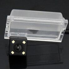 Водонепроницаемый 0lux/4 LED заднего вида Камера Обратный Парковка Камера для Land Rover Freelander Discovery 2/LR3 автомобиль 8186led