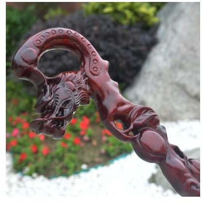 for the aged western Grandpa grandmas birthday gift manual men carving stick times pear wood products old mahogany cane Walkerfor the aged western Grandpa grandmas birthday gift manual men carving stick times pear wood products old mahogany cane Walker