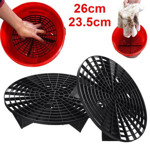Car Wash Grit Guard Insert Washboard Water Bucket Scratch Dirt Filter Car Cleaning Tool Wash Accessories 23.5cm/26cm r10