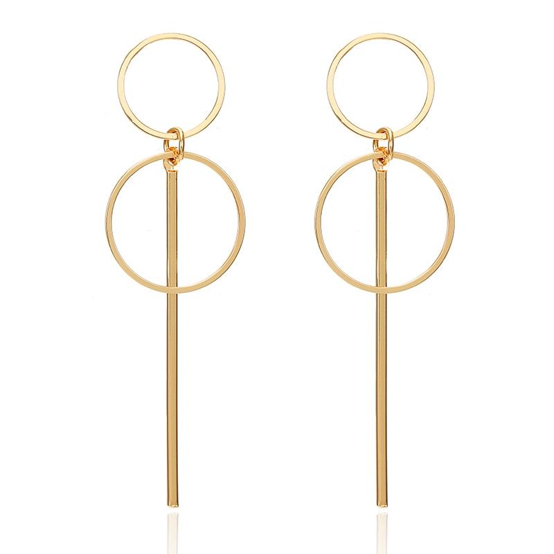 19 Big Geometric Earrings Fashion Statement earrings For Women Hanging Dangle Earrings Drop Earrings modern Jewelry 571 9
