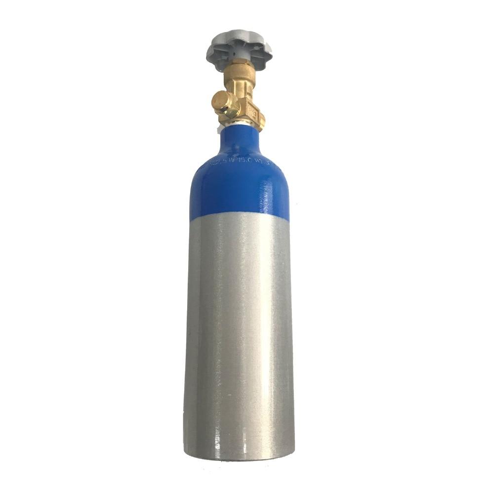 Acecare Mini 1L 15Mpa De Remplissage D'oxygène Cylindre En Aluminium alliage Plongée Plongée Sous-Équipement de Plongée Cylindre Bouteille De Plongée Avec Valve