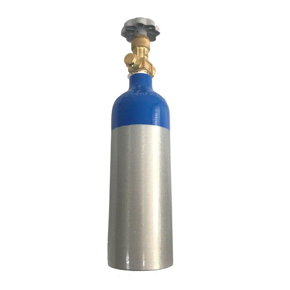 Acecare Mini 1L 15Mpa De Remplissage cylindre à oxygène En alliage D'aluminium matériel de plongée Plongée sous-marine Cylindre bouteille de plongée Avec Valve
