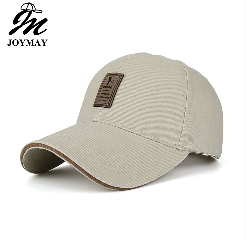 JOYMAY retail wholesale GOOD Quality brand new cap baseball cap snapback hat cap fitted hats for men and women B253 new high quality warm winter baseball cap men brand snapback black solid bone baseball mens winter hats ear flaps free sipping