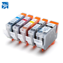 5 Ink Cartridge PG-5BK CLI-8BK C M Y untuk Canon Printer IP4200 IP4300 MP610 MP810 Printer Penuh Tinta(China)