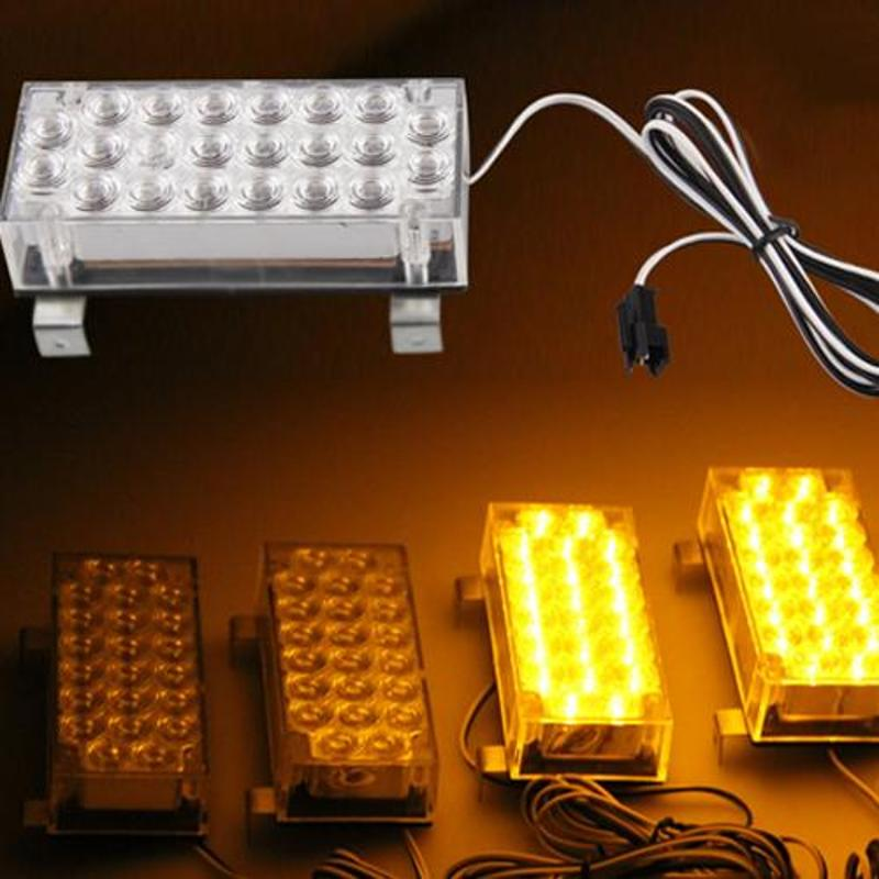 Car 88 LED Flashing Strobe Flash Light