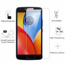 For Motorola Moto E4 Plus Tempered Glass Display Protector Protecting Movie Guard for Moto E4 Anti Explosion Anti-shatter