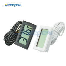 TPM-10 LCD Digital Thermometer Temperature Sensor Meter Weather Station Temperature Controller Thermostat Thermal Regulator 2m2M стоимость