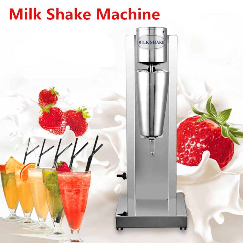 Commercial Milk Shaker Blender Machine Drink Cyclone Soft Ice Cream Speed Milkshake bubble Mixing Machine edtid new high quality small commercial ice machine household ice machine tea milk shop