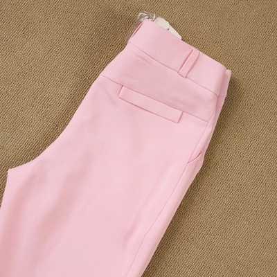 ファッション専門のセット女性パンツスーツ気質ファッションオフィスレディ長袖ブレザーでパンツプラスサイズ作業着用