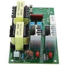 Ac 220v 60 w 100 w ultrasonik temizleyici elektrikli tornavida frekans test cihazı kurulu ile 2 adet 50w 40khz dönüştürücüler