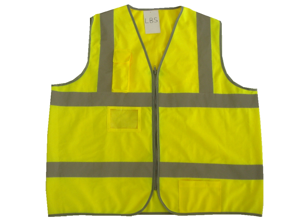 High Visibility Safety Vest Reflective Jacket Outdoor