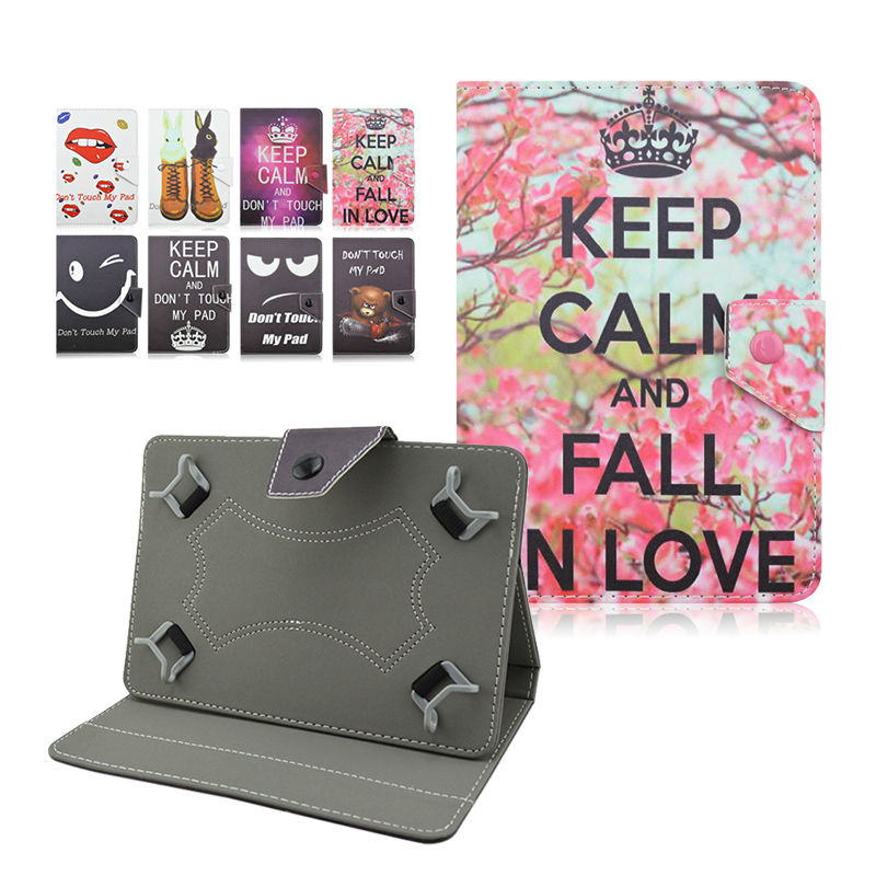 Universal Cases for ARCHOS 101 Neon/101 Xenon printed Leather Stand Case fundas tablet universal 10 inch+Center Film+pen KF492A pu leather case cover for dns airtab m92 for archos 90b neon 9 inch universal tablet cases pc pad center film pen kf492a