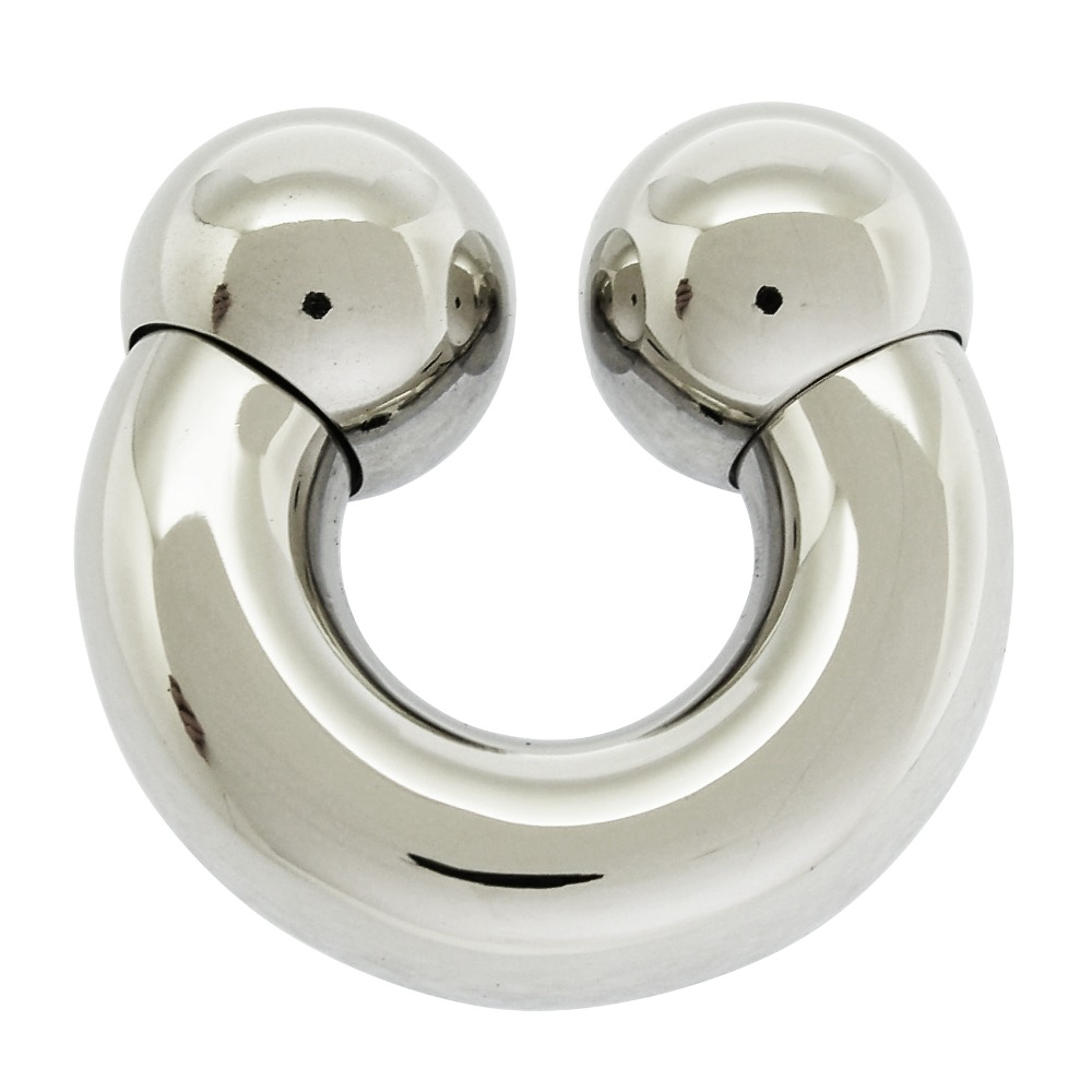 10mm thick 316L stainless steel body piercing jewelry circular barbell piercing ring body jewelry body jewelry