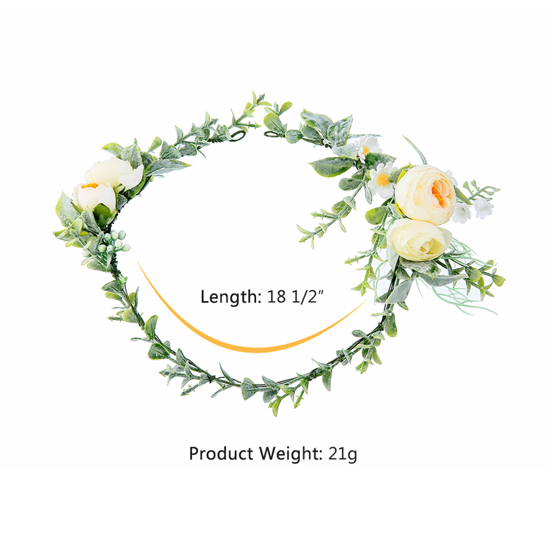 New Suit Fashion Women Attractive Temperamental Flower Hairband Set Brides Daily Wedding Party Handwork Jewelry Set