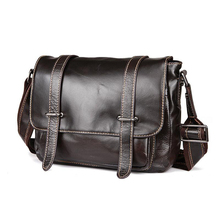 LOVMAXI Male Causal vintage genuine leather messenger bags shoulder bag for men coffee leather business bags handbags fashion