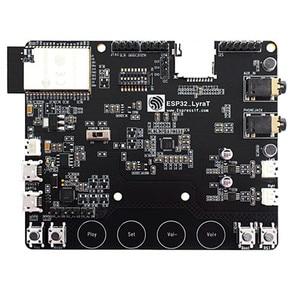 Image 1 - ESP32 LyraT dla Audio IC narzędzia programistyczne przyciski, wyświetlacz tft i kamera obsługiwane ESP32 LyraT ESP32 LyraT